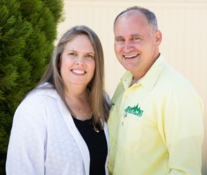 Ruth and Stephen Jaenchen of Summit Cleaning Services in Carson City, NV